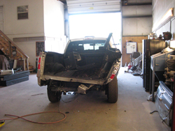 Truck Accident Body Repairs Painting